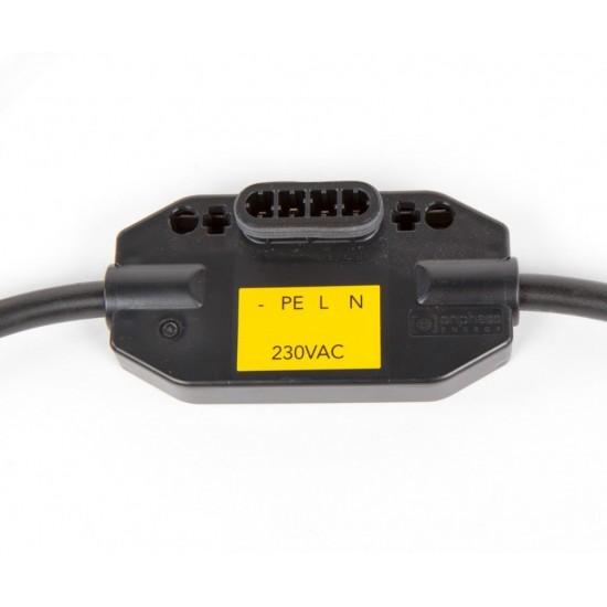 CABLE 230VAC - CONNECTEUR PAYSAGE